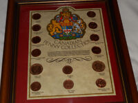 Framed Coin Collector