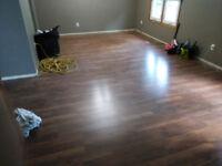 Flooring/Trim installation