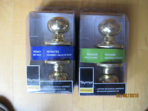 3 NEW TAYMOR PRIVACY LOCK SETS $15 EA OR $40 FOR 3