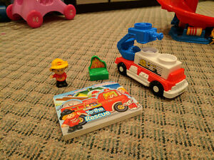 Little People Fire Truck and Book Cambridge Kitchener Area image 2