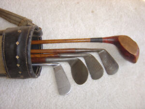 LOOKING TO BUY WOODEN SHAFTED GOLF CLUBS 1920