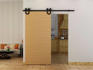 Complete sets of easy to install soft close barn door hardware St. John's Newfoundland image 6