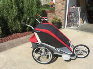 Chariot dual seat