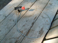 """Brand New: 53"""" Lawn Mower Throttle Control With Cable"""