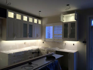 POT LIGHTS INSTALLATION $55 - licensed electrician *High quality Kitchener / Waterloo Kitchener Area image 3