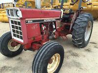 1984 684 International Diesel Tractor 3 Point Hitch