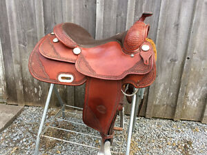 Billy Cook Pro Reiner Saddle