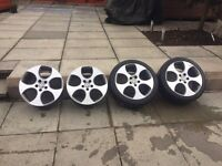 "18"" bbs monza golf gti wheels"