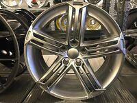 "18"" alloy wheels Alloys Rims 5x112 Vw Volkswagen Seat skoda Audi"