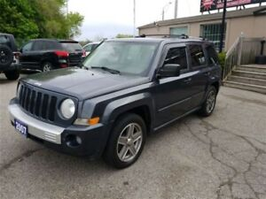 2007 Jeep Patriot 4WD 4dr Limited Leather|Sunroof