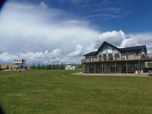 Beautiful home on 5 acres in Red Deer County
