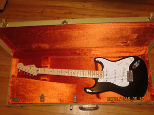 2014 Fender USA Eric Clapton Signature Stratocaster-Blacki OHSC