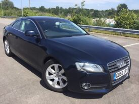 Audi A5 2.0 TFSI QUATTRO 211PS 1 OWNER LEATHER FSH (blue) 2008