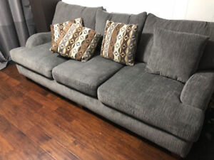 Grey sofa couch like new