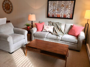 Beautiful almost new couch.