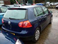 VW GOLF MK5 1.4 16V 2007 - *BREAKING*