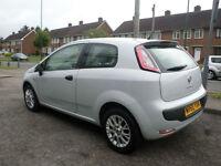 2010 Fiat Punto Evo 1.4 8v Active 3DR 60REG Petrol Grey