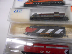 n-scale trains.. MEGA COLLECTION CAME IN OVER 100 ENGINES... London Ontario image 1