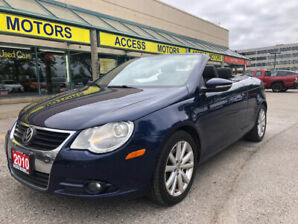 2010 VOLKSWAGEN EOS CONVERTIBLE , BEST PRICE IN THE MARKET !