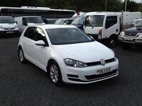 Volkswagen Golf 1.6TDI ( 105ps ) ( s/s ) 2013 63 reg SE new model