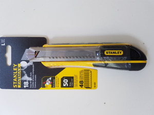 STANLEY 18mm Snap-Off Utility Knife