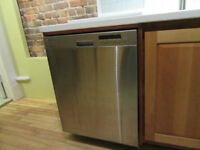 Excellent conditon almost new stainless steel dishwasher LG