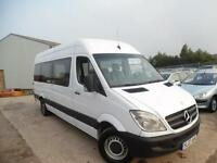 LHD MERCEDES SPRINTER 311 CDI LWB MINI BUS 16 SEATER ONE OWNER
