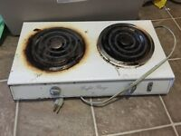 Portable stove $40.   Airdrie