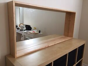 Pine Mirror - IKEA real wood