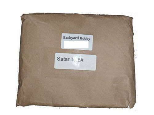 Satanite Refractory Mortar Cement Coating 3200F Temp Rating Pound LB All Sizes