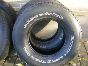 Set of 4 BFGoodrich Radial Long Trail T/A Truck Tires 265/70/16 Peterborough Peterborough Area image 2