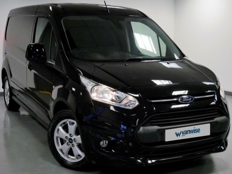 2017 Ford Transit Connect 15 TDCi 120ps Limited Van Diesel Black Manual