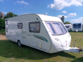 Sterling Europa caravan. Valued at £8400 Retail
