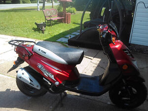 E-Ton scooter 2006