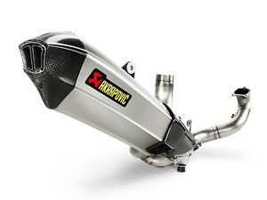 Akrapovic exhaust systems available for all Bikes, call Cooper's