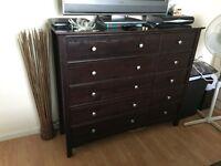 Dark brown bedroom furniture