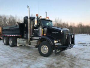 Kenworth t800 gravel truck