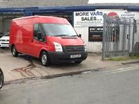 2012 1 owner Ford Transit 2.2TDCi ( 125PS ) ( EU5 ) 300 lwb ( Low Roof ) air con