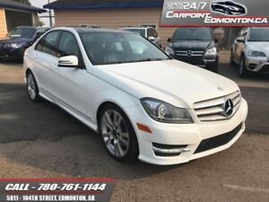 2013 Mercedes Benz C-Class C350 4Matic...MINT...NO STORIES...LOW