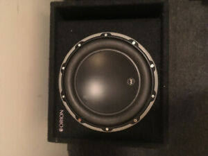 JL Audio 10W6v3 SUB with pro Orion enclosure