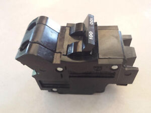 Federal Pacific 100 AMP, Bolt on, 2 pole, Type NB100 breaker