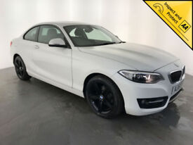 2015 BMW 218D SPORT DIESEL COUPE 1 OWNER SERVICE HISTORY FINANCE PX WELCOME