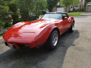 1979 Corvette T-Top Convertible