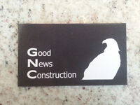 Good News Construction: Carpentry, Renovations, and Concrete
