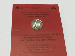 1972 Canada-Russia Hockey Series Commemorative Sterling Pin