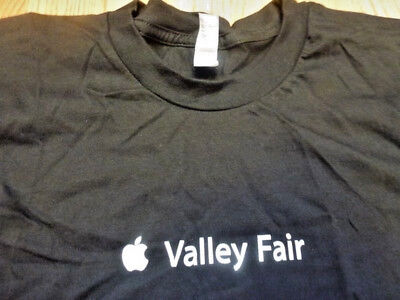 APPLE Store T-SHIRT Valley Fair Mall Large LG Santa Clara California CA MacPro (Valley Fair Mall)