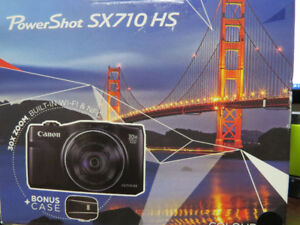 SOLD PPU : Brand New in BOX Canon Power Shot SX710 HS