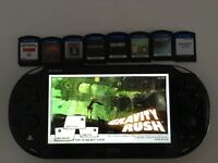 PSVita (second generation) and Games.