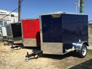 Large Selection of Small Enclosed Trailers