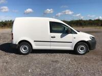 Volkswagen Caddy 1.6 102PS STARTLINE EURO 5 DIESEL MANUAL WHITE (2014)